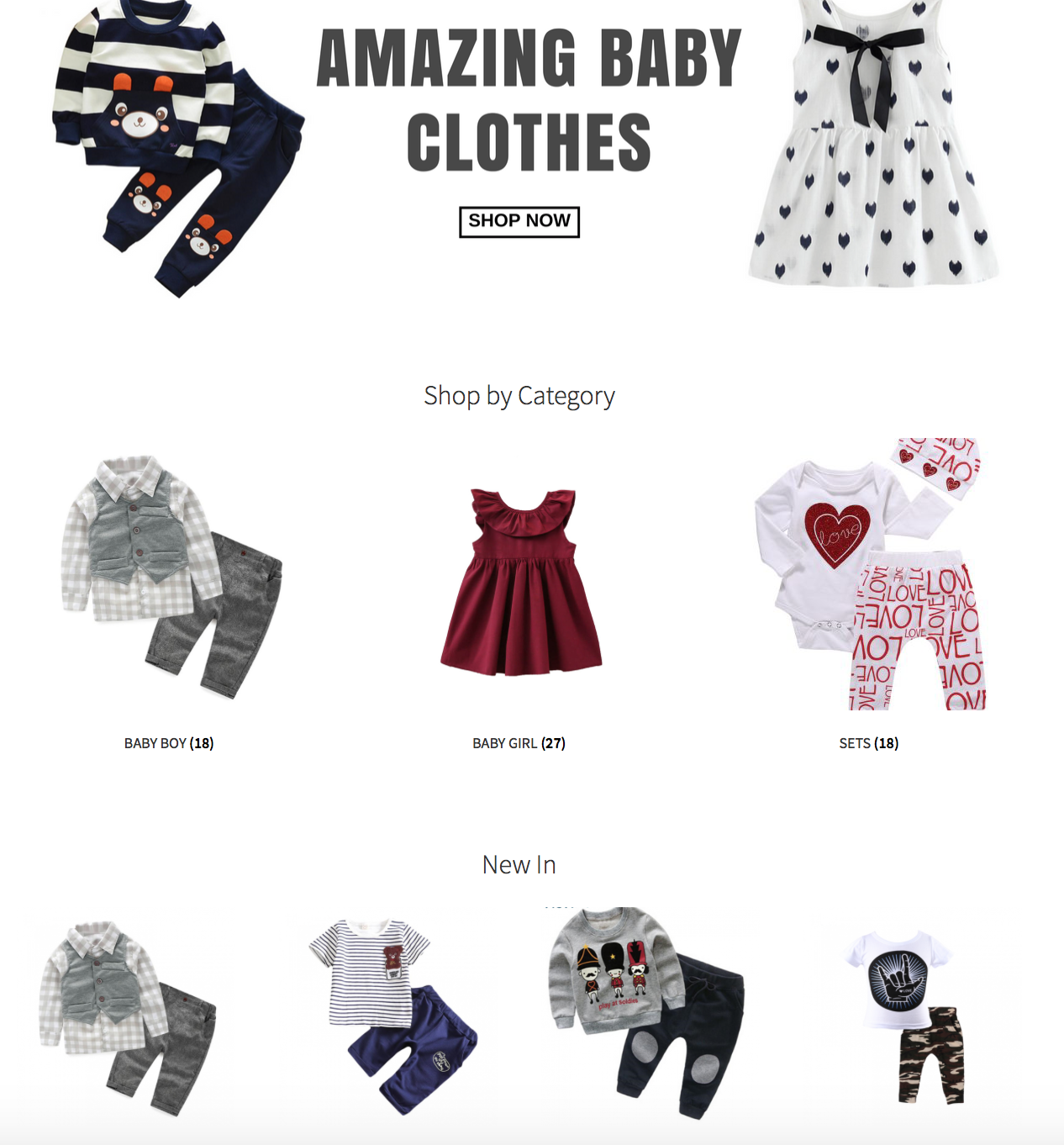 Baby Clothing Dropship Website Dropship Finds
